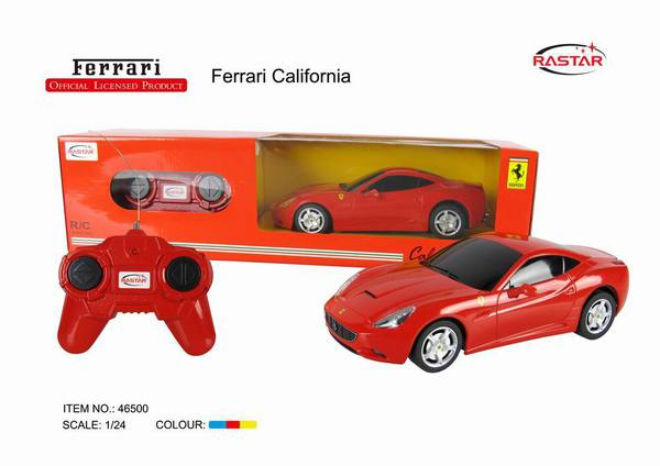 Машина р/у 1:24 Ferrari California, пластмассовая